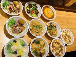 写真:中華料理のテイクアウトメニュー