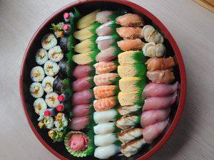 写真:お寿司の盛り合わせ